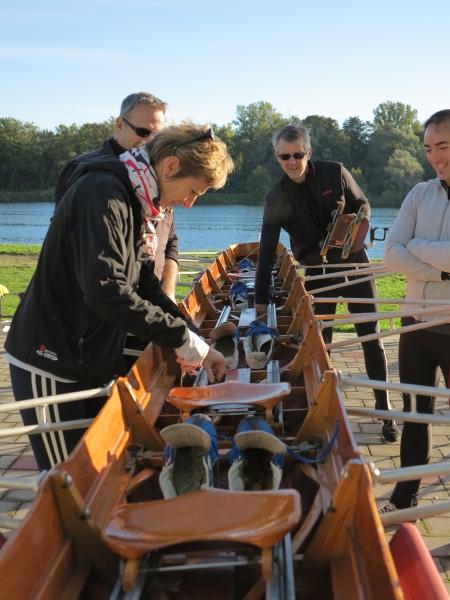 13/10/13 - Aviron Club Région Colmar - Première sortie sur le 4X -